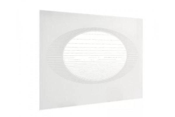 Стекло духовки наружное плиты GEFEST 1100, 1140. белое, 598*417мм (1100.66.0.003-09)