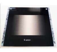 Стекло духовки наружное плиты GEFEST 3500, 497*443мм (3200.15.2.000-03)